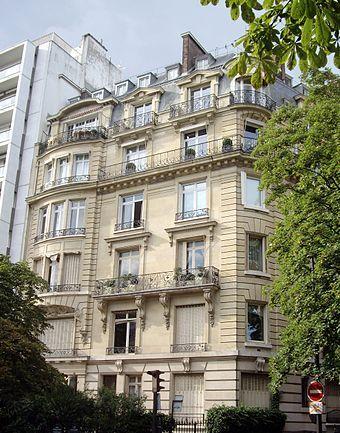 Avenue Georges-Mandel, 36, Paris 16 - Maria Callas - Wikipedia