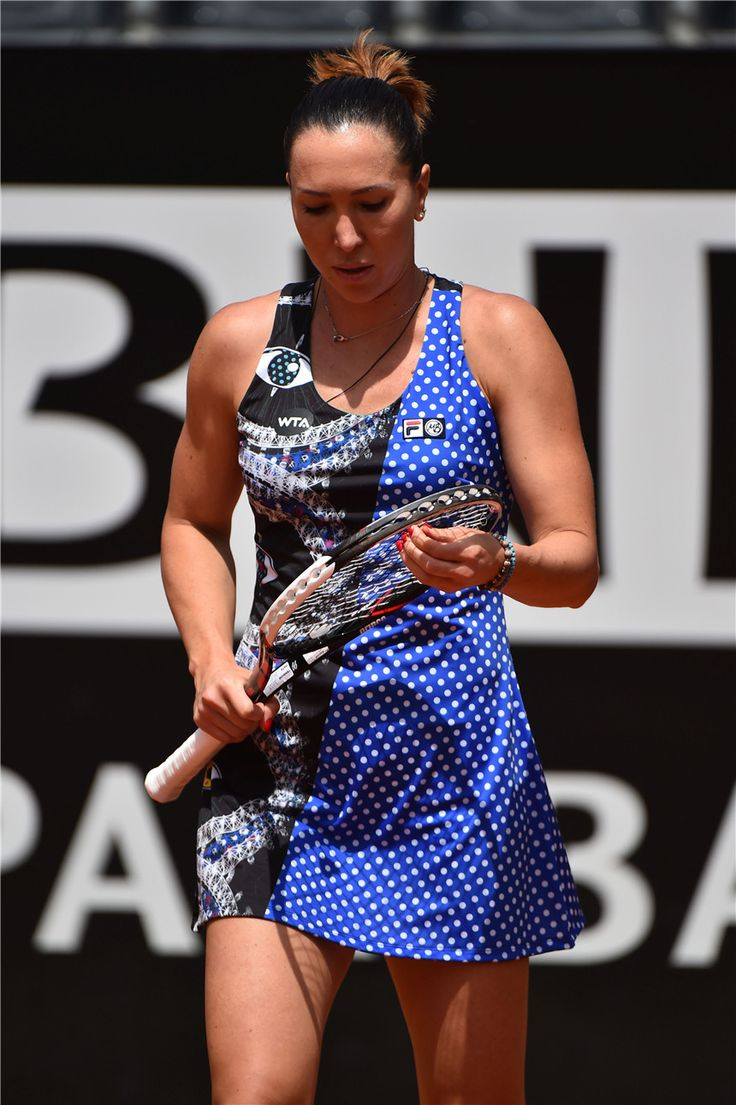 Jelena Jankovic Debuts the LOVE FILA BY MARION BARTOLI Collection in Rome | Zhiboxs.com
