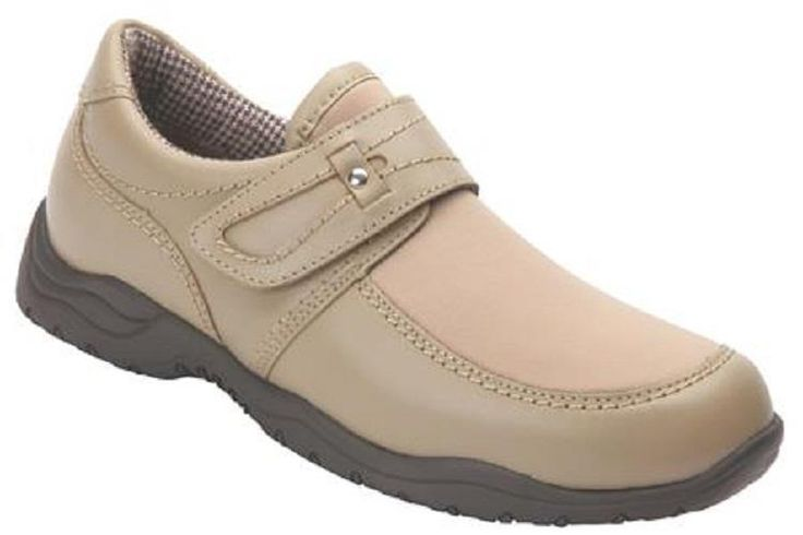$160 Drew Shoes ANTWERP Womens Loafers 10 M Taupe Orthotic Diabetic Stretch Clog #Drew #LoafersMoccasins