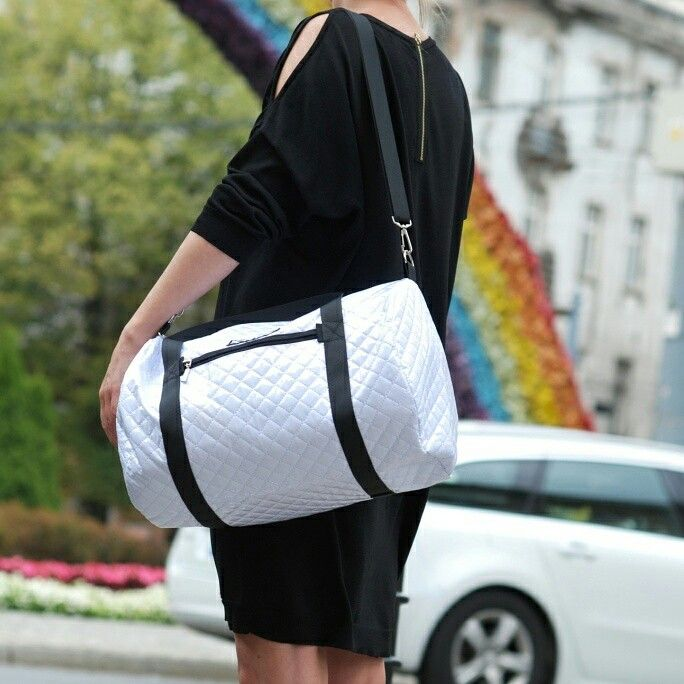 white sport bag Kowo Warsaw