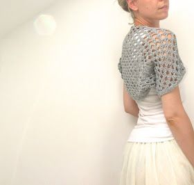 Steel&Stitch: Easy Crochet Shrug                              …
