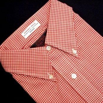 Sero Durable Press Blend - Gingham - Red