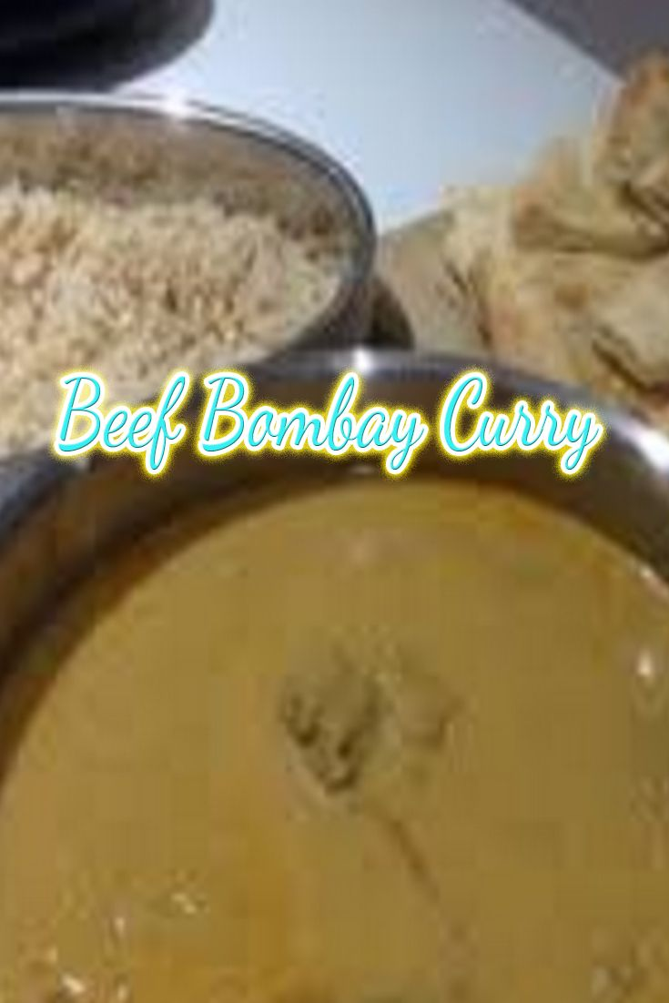 Bombay curry would have to be one of my personal favourite curries.