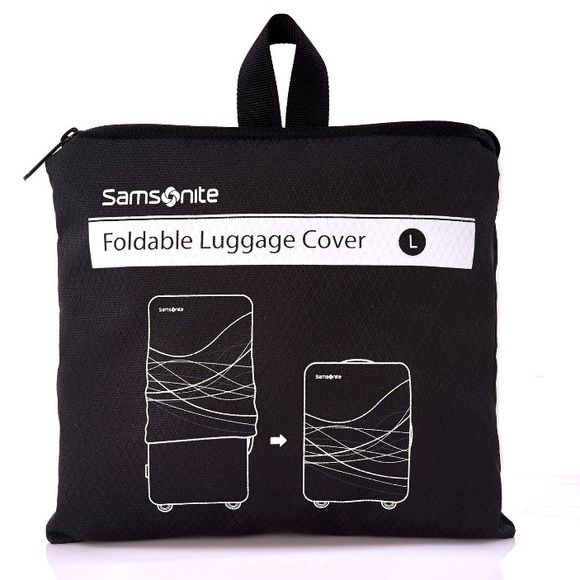 2 Luggage Cover 2 Large Foldable Luggage Cover. New. Samsonite Accessories