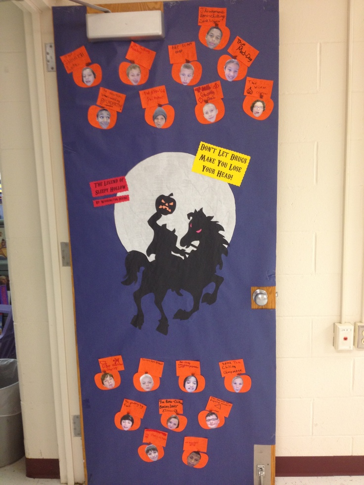 red ribbon week door decorating inspiration enter your best red ribbon week door decorating theme - Decorating Door For Halloween