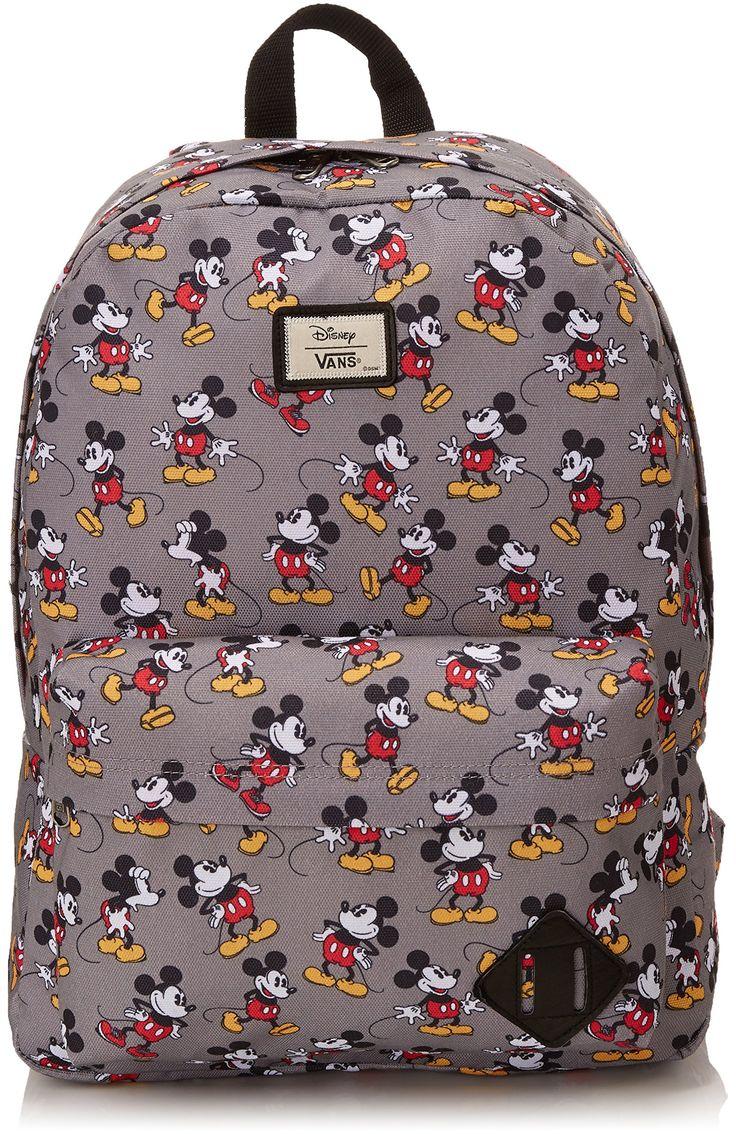 Vans Mens Old Skool II Backpack Mickey Mouse