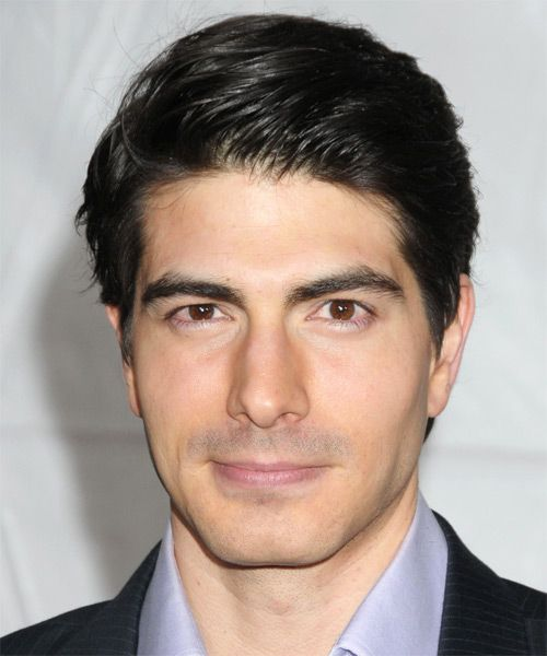 Brandon Routh Hairstyle - Short Straight Formal | TheHairStyler.com