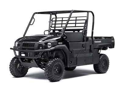 New 2017 Kawasaki Mule PRO-FX ATVs For Sale in Illinois. Whether you're loading up a pallet of feed or heading out on a hunt, the Mule PRO-FX Side x Side has the versatility, power, and long lasting durability to make quick work of it—over and over again. Massive cargo bed can fit a standard size 40 x 48 pallet with the tailgate closed and up to 1,000 lbs. of cargo capacity Powerful 812 cc three-cylinder engine with massive torque, impressive pulling power, and smooth acceleration for towing…