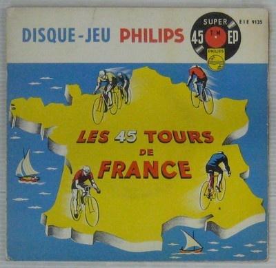 Cyclisme les 45 tours de France Disque