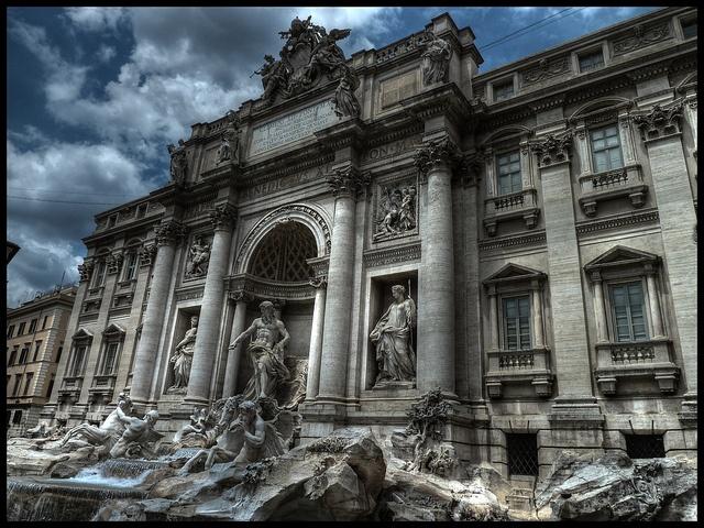 Fontaine De Trevi, Fontana di Trevi - Roma, Italia