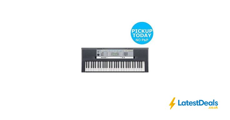 Yamaha YPT-240 Full Size Keyboard Free C&C, £109.99 at ebay