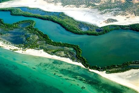 La Laguna de la Restinga, Isla Margarita.