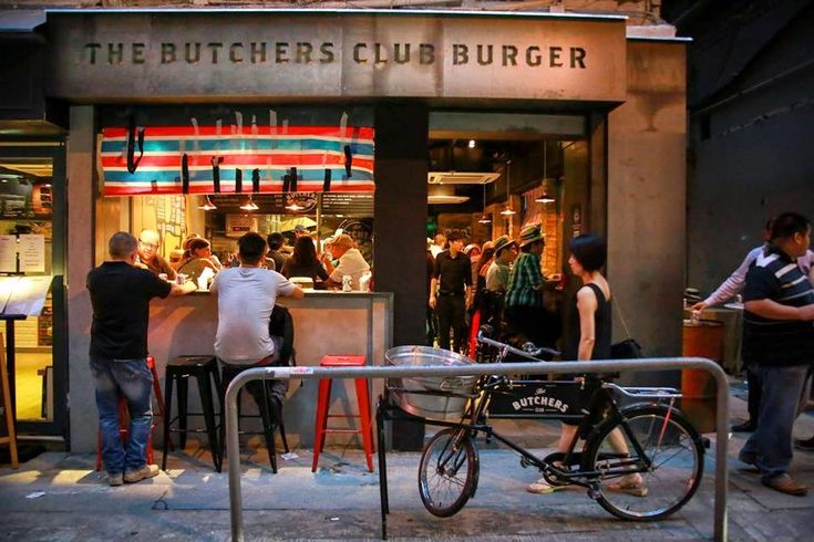 Hungry Hong Kong: THE BUTCHERS CLUB BURGER Wan Chai Hong Kong