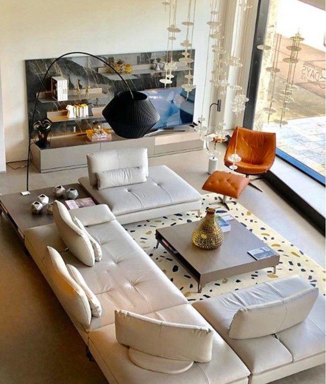 Roche Bobois On Instagram Create Your Ideal Seating Scenario Scenario Sofa Composition D In 2020 Moroccan Living Room Interior Design Living Room Home Living Room