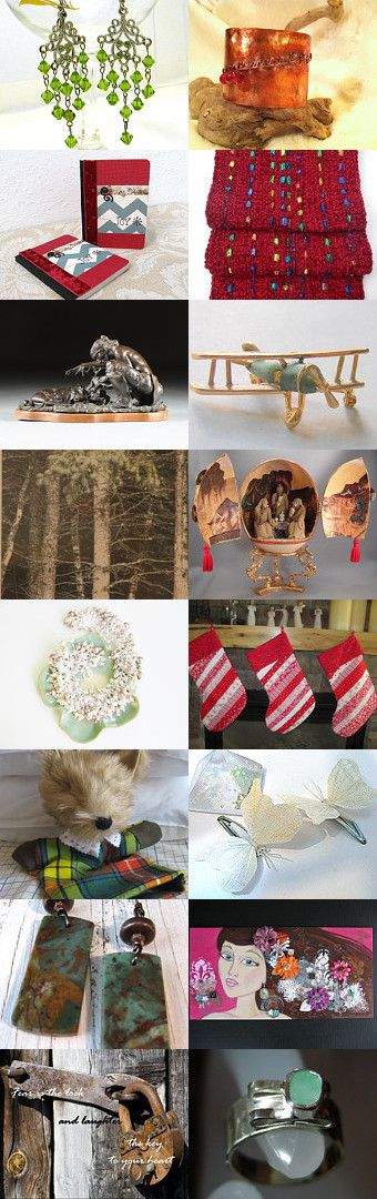 Early Bird Holiday Shopping with Golden Rose Crafters by Melissa Miller on Etsy--Pinned with TreasuryPin.com