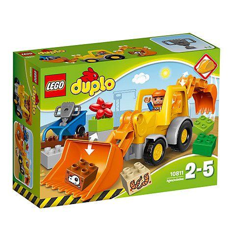 Buy LEGO Duplo 10811 Backhoe Loader Online at johnlewis.com