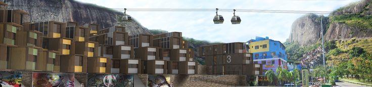 Favela compacta