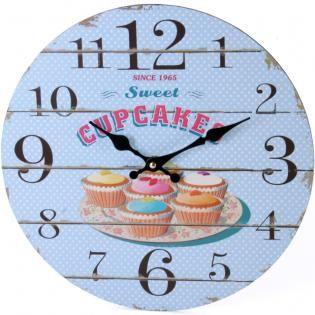 Cupcake Clock (measures approx. 34cm across)