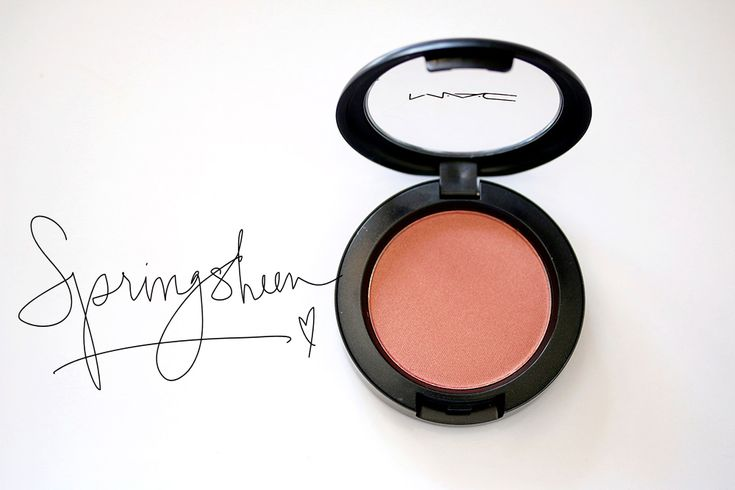 Neat and New to Me: MAC Springsheen Sheertone Shimmer Powder Blush