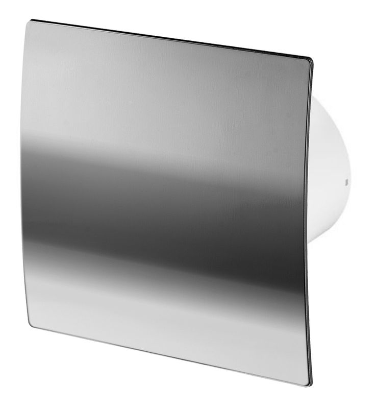 100mm Humidité Detecteur Hotte Ventilateur Chrome ABS