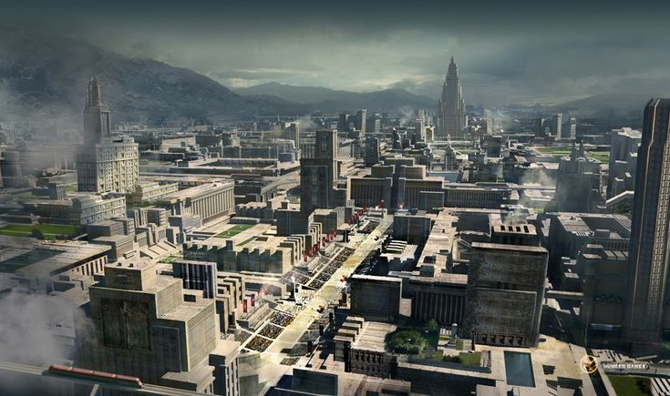 the hunger games capitol city - Google Search ...