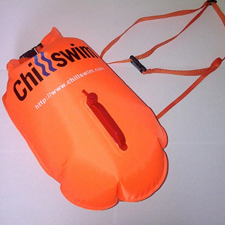 Inflatable Swimmer's Dry Bag (L - 35 Litre) - Chillswim Shop