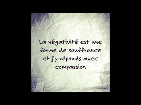 Les Mantras du Bonheur : La négativité, la souffrance & la compassion - YouTube