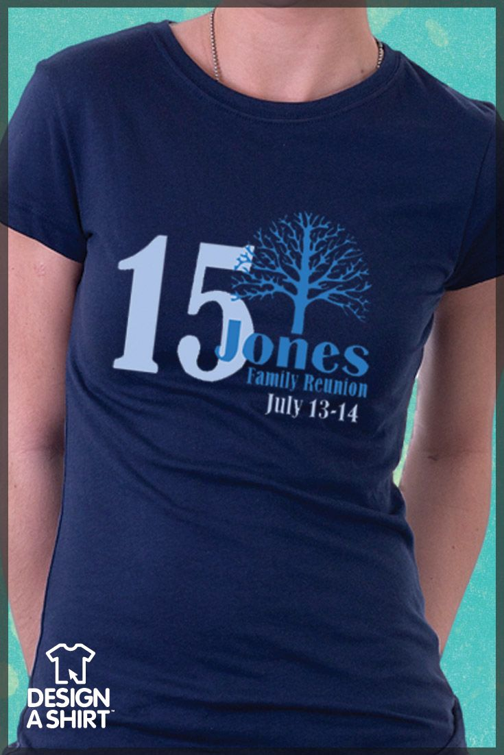 107 best images about family reunion shirts on pinterest for Family reunion t shirt printing