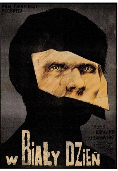 Plakat filmowy: W biały dzień - Pągowski '80