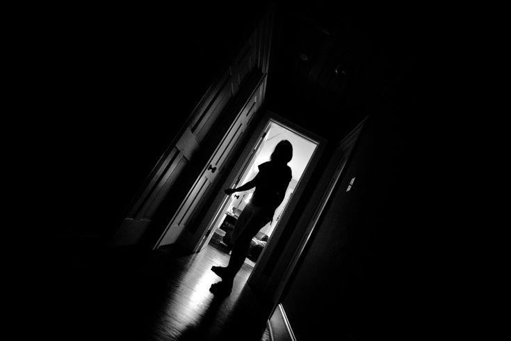 anthony kicking through door