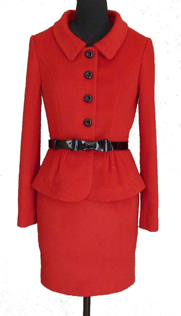 Luisa Spagnoli Red Suit