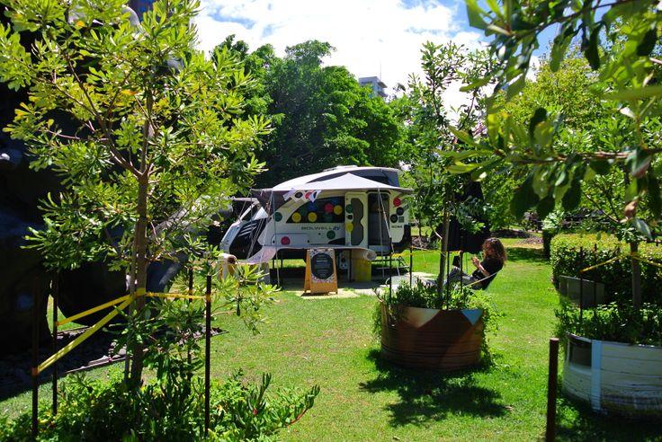 Melbourne Now Design Residency: Bolwell EDGE Caravan Studio Residency NGV Garden - Carter LeAmon 'Reasons to Design' March 2014