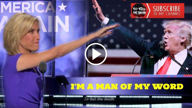 6/23/17 Trump To Laura Ingraham ► I Am a Man of My Word!!!