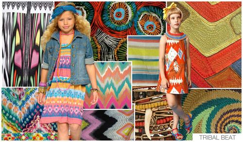 Top Trend Themes, Children's Market, S/S 2015, TRIBAL BEAT