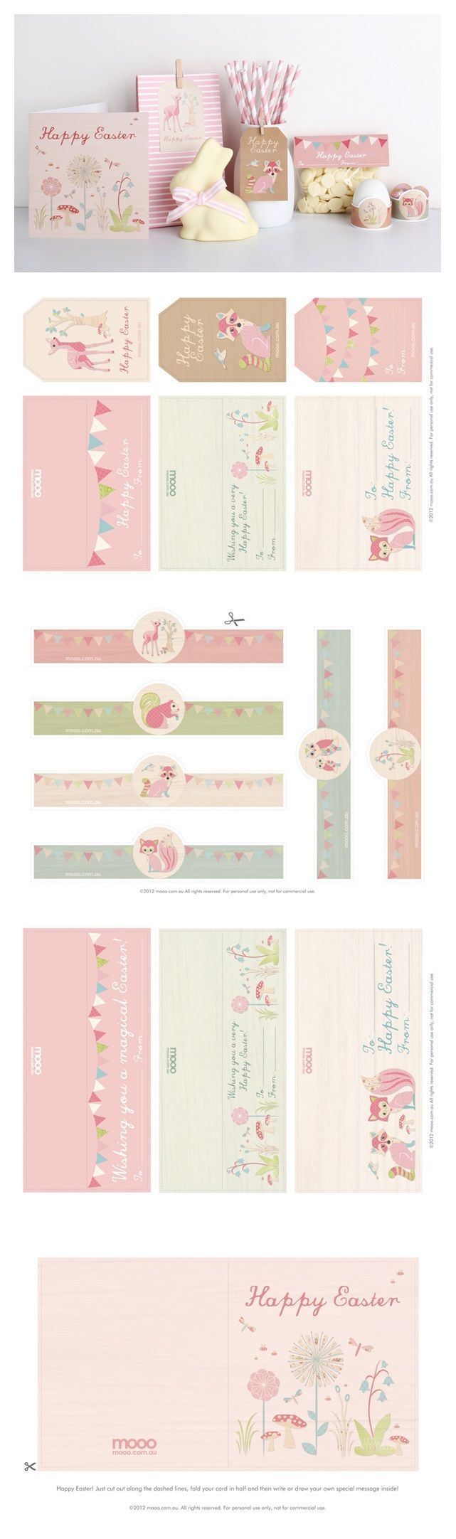 easter cards printables