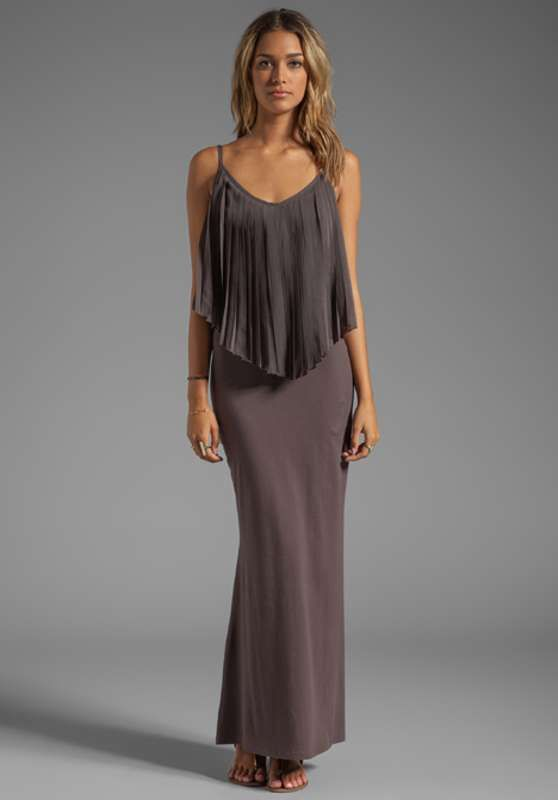 Vestidos largos de fiesta con ruffles  http://vestidoparafiesta.com/vestidos-largos-de-fiesta-con-ruffles/
