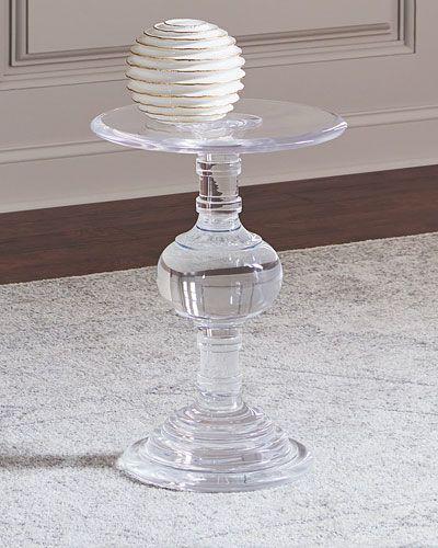 Andrea Acrylic Side Table