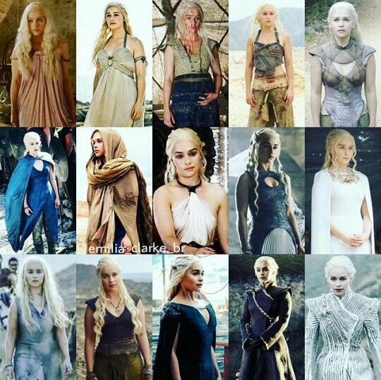 The Evolution of Danareys Stormborn of House Targaryen                                     Our Khalessi