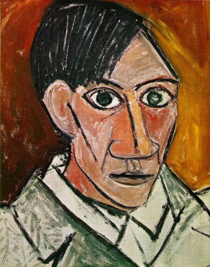 AUTORITRATTO A 26 ANNI, CUBISMO Picasso