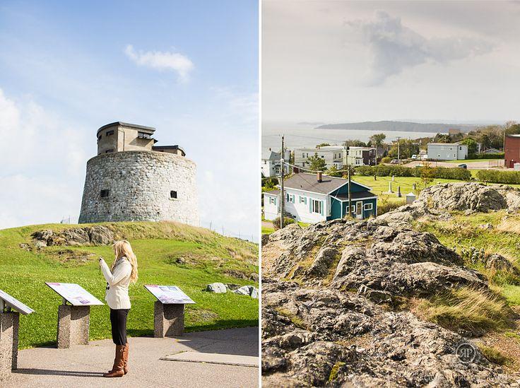 Martello Tower, Saint John New Brunswick, Canada.  Travel photos by: Rowell Photography