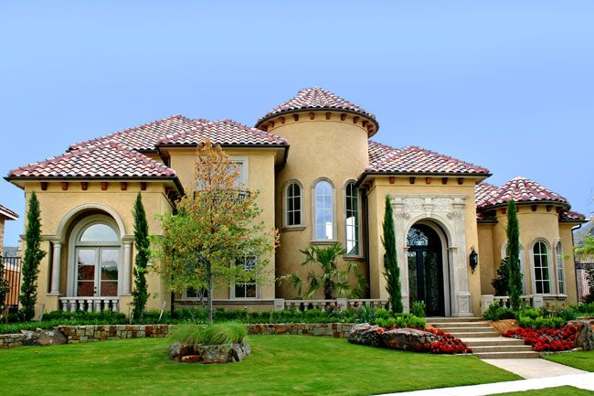 10 best ideas about mediterranean house exterior on Mediterranean custom homes