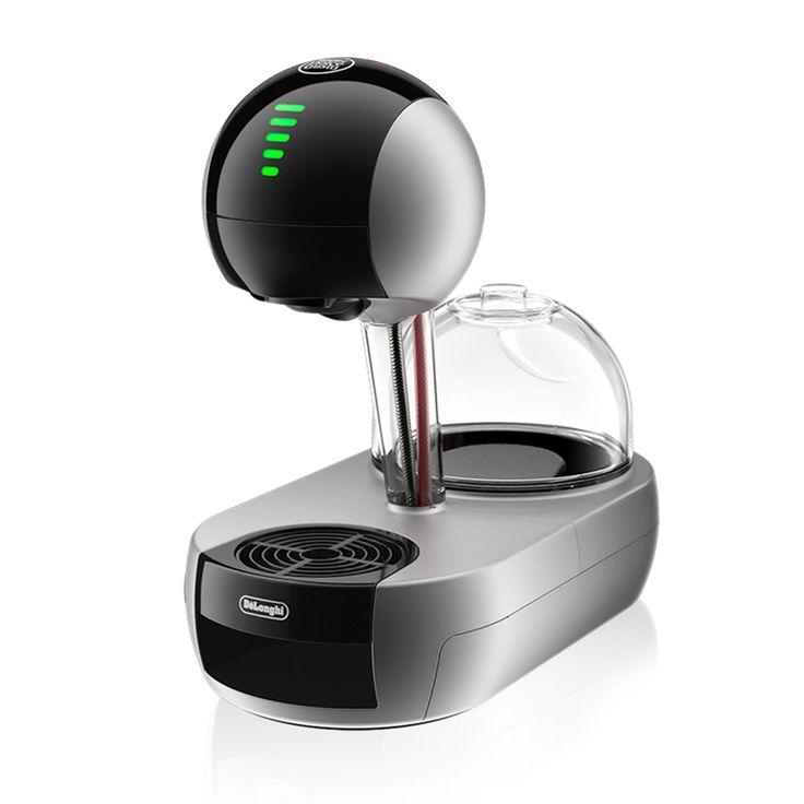 Stelia Dark Silver De' Longhi Stelia risponde a ogni tocco, offrendo una coffee experience semplice e intuitiva. Prova la nuova elegante macchina dal design ispirato a una goccia di caffè.