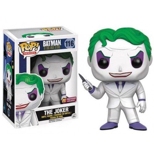 Funko The Joker 116, Coringa, Batman o Cavaleiro das Trevas, The Dark Knight Returns, DC Comics, PX Exclusive, Funkomania, Quadrinhos