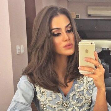 Camila Coelho, cabelo lindo!