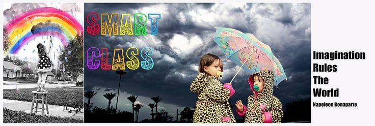 SMART CLASS. Blog con ideas para proyectos de plástica en Primaria. (Inglés)