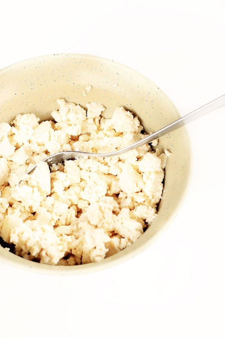 Como fazer tofu mexido | herbi-voraz.com #vegan #tofu #tofumexido #vegano