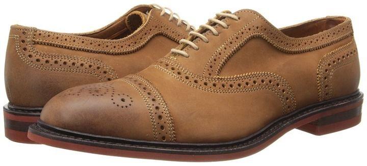 $295, Tan Leather Brogues: Allen Edmonds Allen Edmonds Strandmok. Sold by Zappos. Click for more info: https://lookastic.com/men/shop_items/314137/redirect