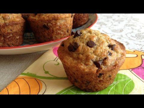 Muy Locos Por La Cocina: Muffins de Plátano y Pepitas de Chocolate