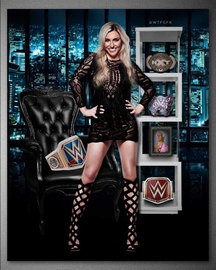 WWE Charlotte Flair.