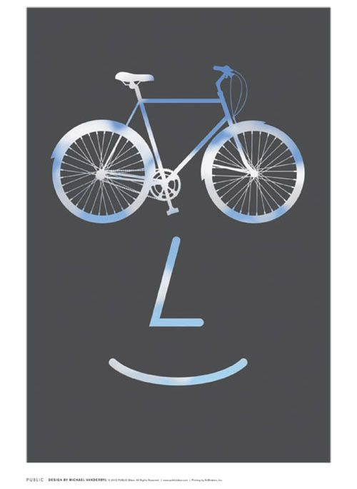 On October 18th, the NYC Flos store will host a new exhibition called PUBLIC WORKS, a poster exhibition created by PUBLIC, the designy bicycle company with a mission to improve the quality and character of our cities and public spaces.